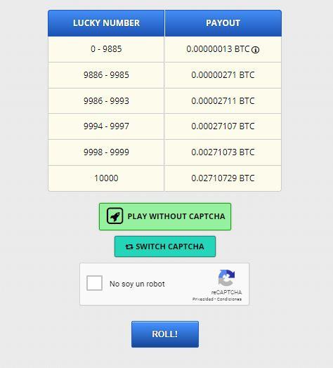 Bitcoin Crytotab